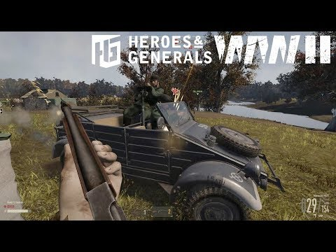 Heroes And Generals ► War |  US Infantry Gameplay #2