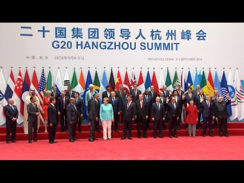 Chinese President Holds Welcome Ceremony for World Leaders Ahead of G20 Opening