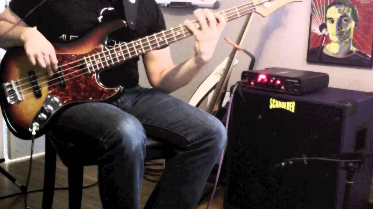 Jason Raso   My Mind Wanders   Schroeder 1210PL Bass Cabinet   YouTube
