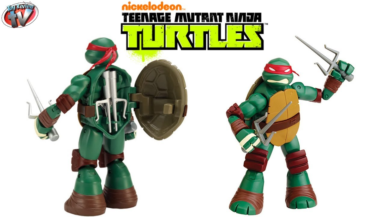 Nickelodeon Teenage Mutant Ninja Turtles Battle Shell Raphael