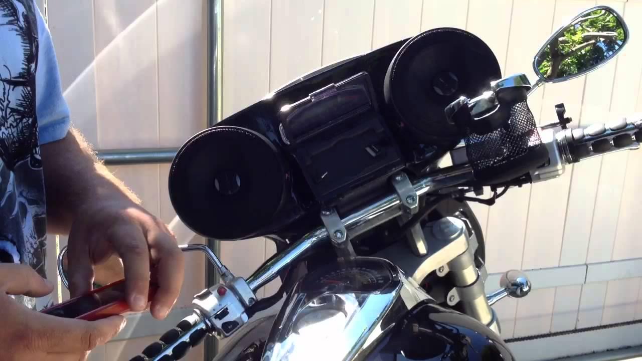 M109r Custom Fiberglass Audio System Customized Suzuki Intruder M109
