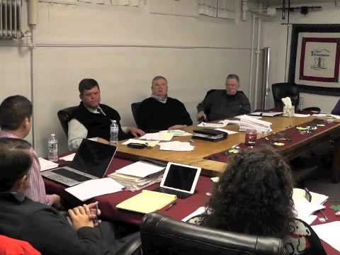 Ticonderoga Town Board Meeting  3-13-14