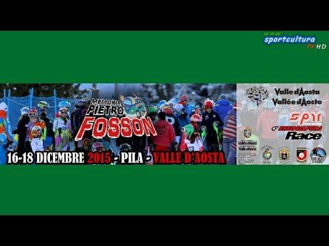 Memorial Fosson 2015 - Slalom Gigante categoria Allievi 2°manche ENERGIAPURA CUP #sci #sport