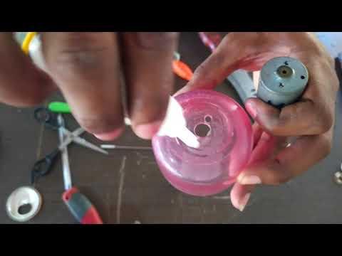 Como fazer bomba d'água centrífuga caseira… 🌀