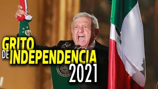 Así fue el grito de independencia 2021