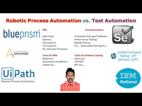 Robotic Process Automation vs Test Automation - Software Testing