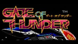 Classic PC Engine Game Gate of Thunder on PS3 in HD 1080p