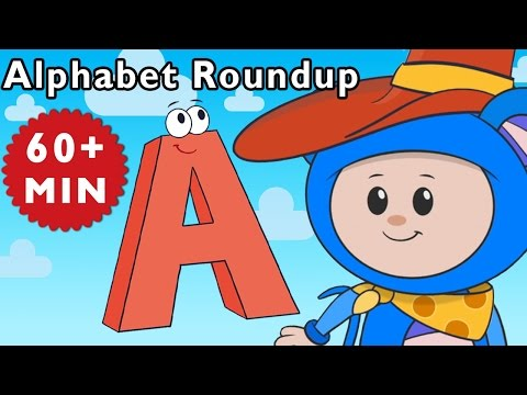ABC Song | Alphabet Roundup and More | Nursery Rhymes from Mother Goose Club!