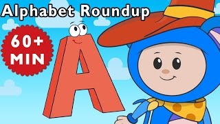 ABC Song | Alphabet Roundup and More | Nursery Rhymes from Mother Goose Club!(Alphabet Roundup and More Nursery Rhymes from Mother Goose Club! Sing along with your favorite Mother Goose Club characters to the all-original nursery ..., 2016-04-07T18:05:06.000Z)