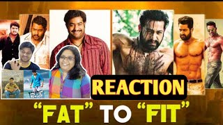 Fat to Fit transformation video Reaction of Jr NTR | JR NTR  Reaction | JR NTR Weight Loss Details |