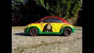 Volkswagen New Beetle 1/24 Tamiya RASTA CAR