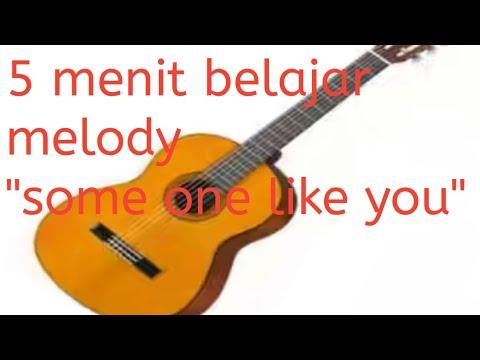 5 menit belajar Melody someone like you. gampang banget belajarnya