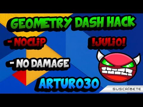 geometry dash hack apk no damage