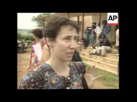 RWANDA: KIGALI: MASSACRE TRIAL PROCEEDINGS BEGIN