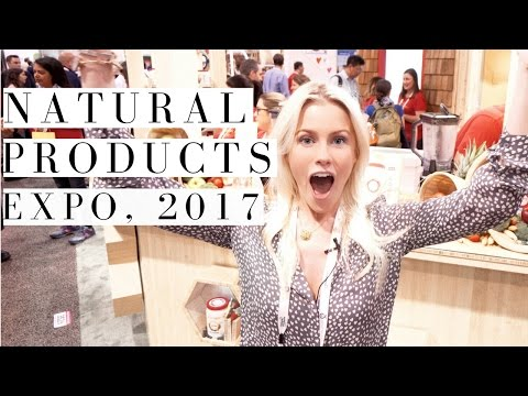 NATURAL & ORGANIC PRODUCTS / EXPO WEST 2017 / LOS ANGELES | Mikaela South