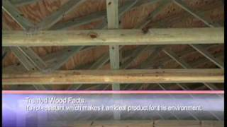 Terra Verde Barn Truss System Gets FaceLift with Borate Treated Pine