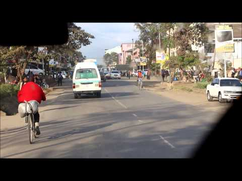 Drive through Arusha