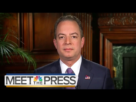 Reince Priebus Full Interview On Mike Flynn, VP Pence, Russian Contact   Meet The Press   NBC News