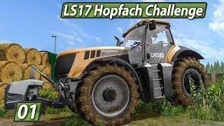 LS17 HOPFACH 🚜 Große CHALLENGE: 4 YouTuber 2 Teams 1 G►winner ► #1 LANDWIRTSCHAFTS SIMULATOR 17