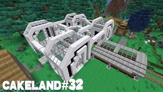 CakeLand FTB #32: ЖД Станция и Апгрейд Базы!