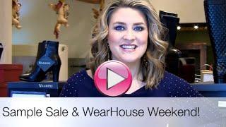 Sample Sale & WearHouse Weekend!
