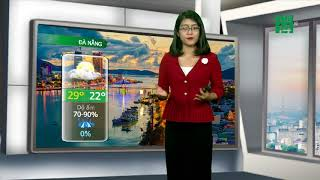 VTC14 | Thời tiết các thành phố lớn 21/02/2018| Thanh Hóa đến Hà Tĩnh nắng nhiệt độ 25-27 độ