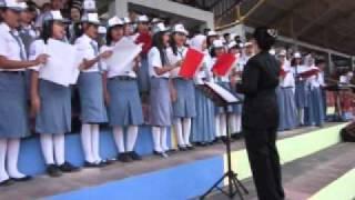 Gambar cover Lagu Maju Tak Gentar dan Satu Nusa Satu Bangsa oleh Paduan Suara SMAN 1 Kuala Kapuas