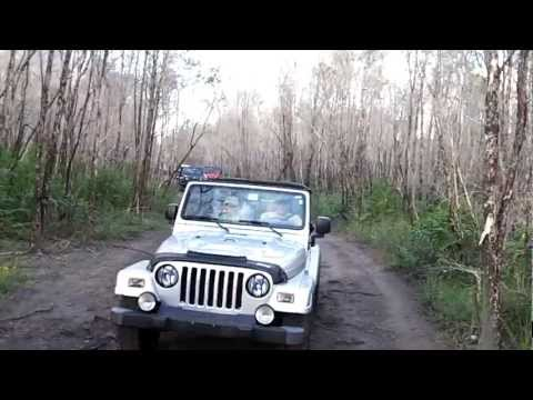 "Jeep Only Club at Tamiami Trails ""Beginners off-road ride"""