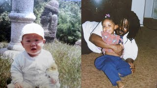 Reacting To Our Childhood Photos