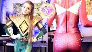 Snakepit Studios Pink & Green Power Ranger Suit Reviews! (Bat in the Sun)