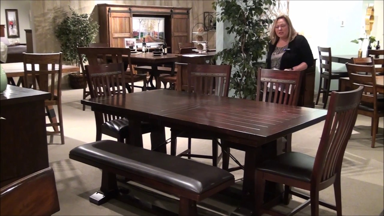 Genial Hayden Rectangular Trestle Table Dining Room Set By Intercon