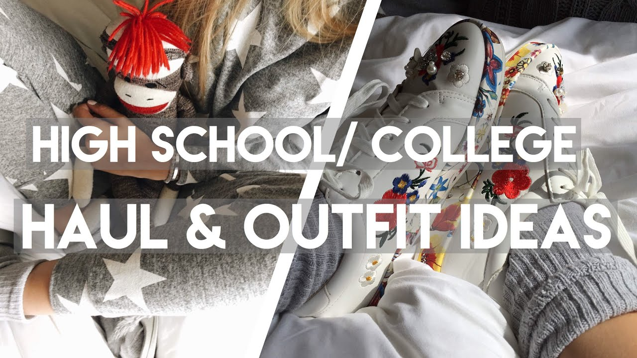 [VIDEO] - BACK TO SCHOOL Try-On Haul & Outfit Ideas 4