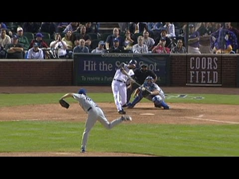 Helton hits a two-run walk-off homer