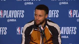 LIVE Round 1 Post Game Press Conference | LAC vs. GSW