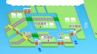 高潮・津波から東京を守るために ~東京港の海岸保全施設~ short ver.