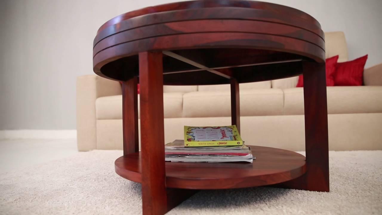 Tea Table   Drevon Tea Table Online In India @ Wooden Street   YouTube