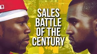 50 Cent vs Kanye West Sales Battle Of The Century