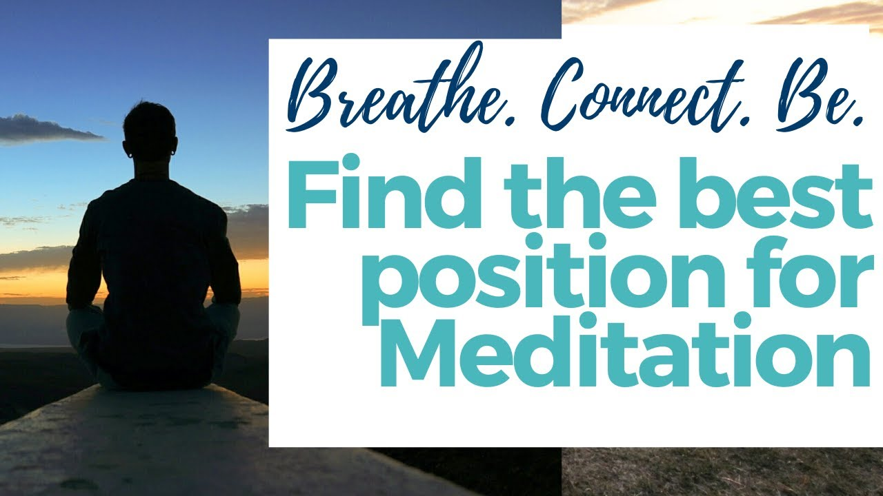Finding a Meditative Seat