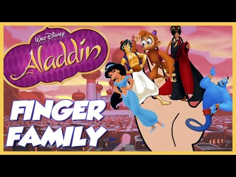 Aladdin Song | Disney's Aladdin Finger Family Song | Finger Family Nursery Rhyme