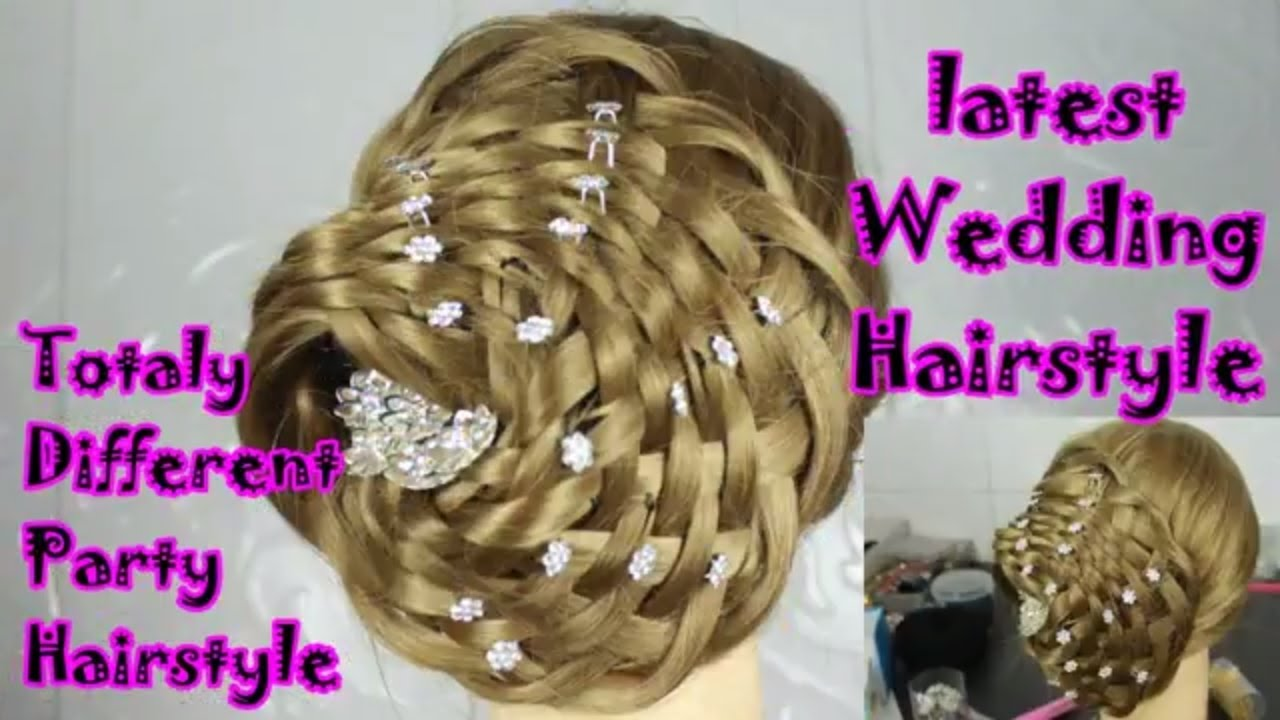 Wedding Hairstyle For Long Hairs Easy Updo For Long Thick Hair