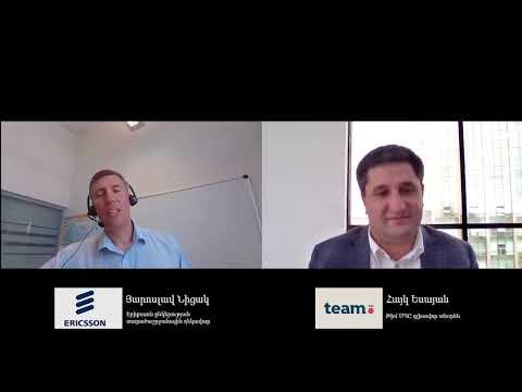 Ericsson-ը և Team Telecom Armenia-ն Հայաստանում կկառուցեն աշխարհի լավագույն ցանցերից մեկը