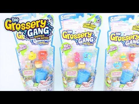 SEASON 3 GROSSERY GANG | SERIES 3 UNBOXING 5 PACK | PUTRID POWER 5 PACK | Toy Unboxing