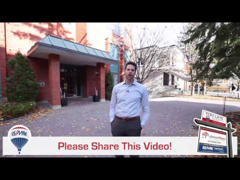 Ottawa ~ Sandy Hill Condo For Sale ~ 405 Laurier Ave East #7 ~ Pilon Real Estate Group