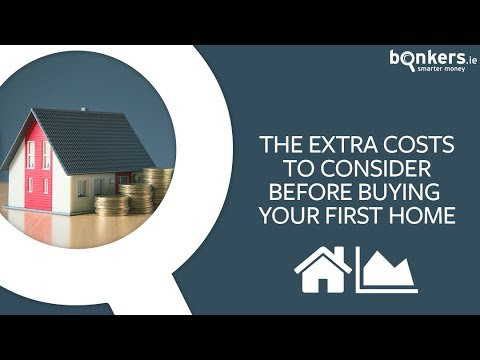 The extra costs to consider before buying your first home