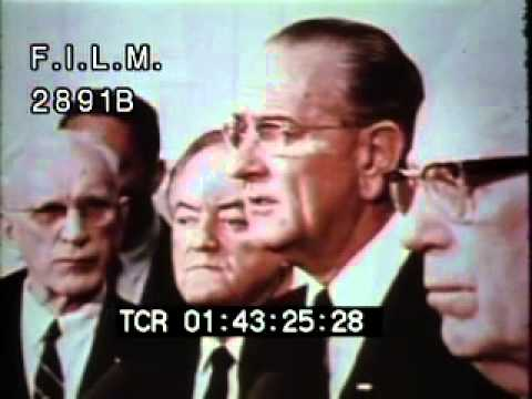 Civil Rights Act of 1968 (stock footage / archival footage)
