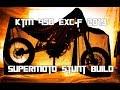KTM 450 EXC-F 2019 Enduro - Supermoto Stunt Build | Vlog 7 [SWEDISH]