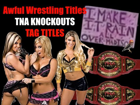 Awful Wrestling Titles: The TNA Knockouts Tag Team Belts