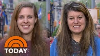 Toddler Reacts Adorably To His Mom's Glamorous Ambush Makeover | TODAY