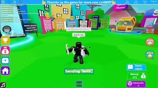 how to fast text [roblox texting simulator]