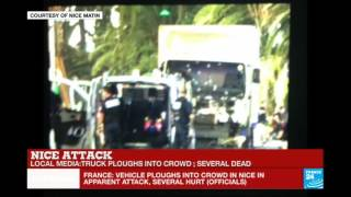 France: Truck ploughs into crowd in Nice during Bastille Day celebrations, several dead thumbnail